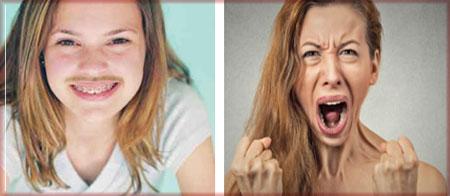 Рост волос на теле и внезапные смены настроения - симптомы гормонального дисбаланса