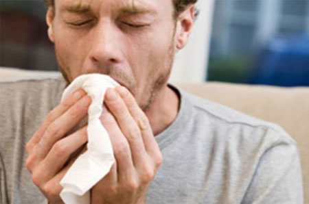 Кашель с мокротой, первый симптом пневмонии