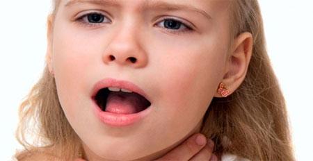 Ларингит у детей