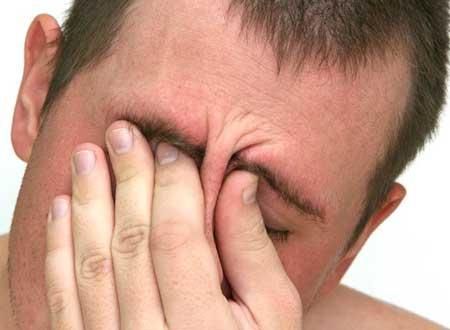 Симптомы головной боли напряжения
