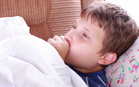 Признаки пневмонии у ребенка, фото
