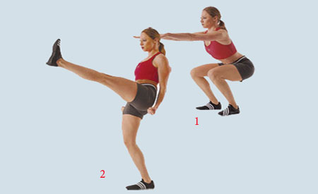 6 упражнений девушкам в домашних условиях