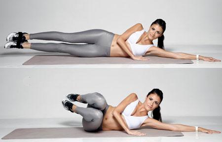 Упражнения для похудения боков от аниты луценко