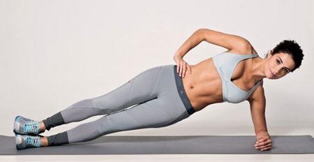 Упражнения для живота и боков в домашних условиях