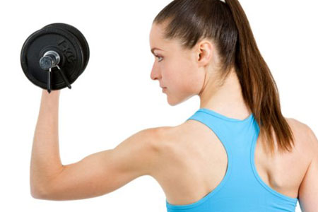 Упражнения с гантелями женщинам для похудения в домашних условиях