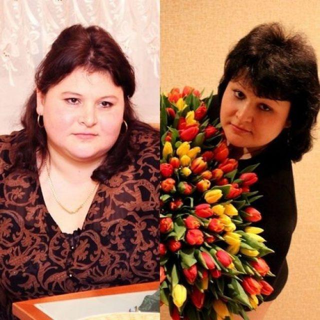 До и после диетотерапии