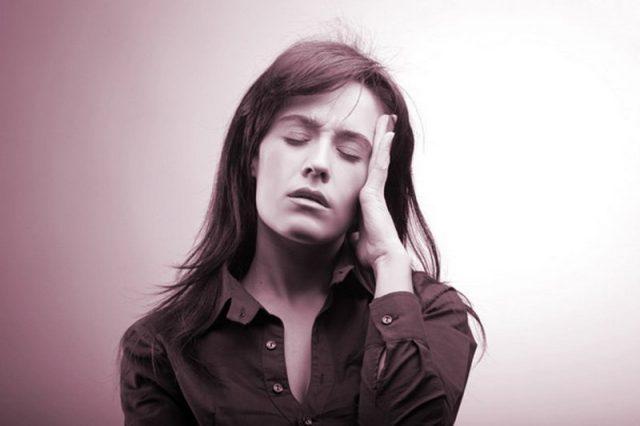 Головная боль при пониженном давлении