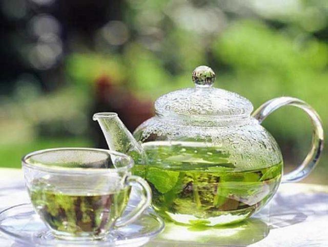 Чай из листьев калины