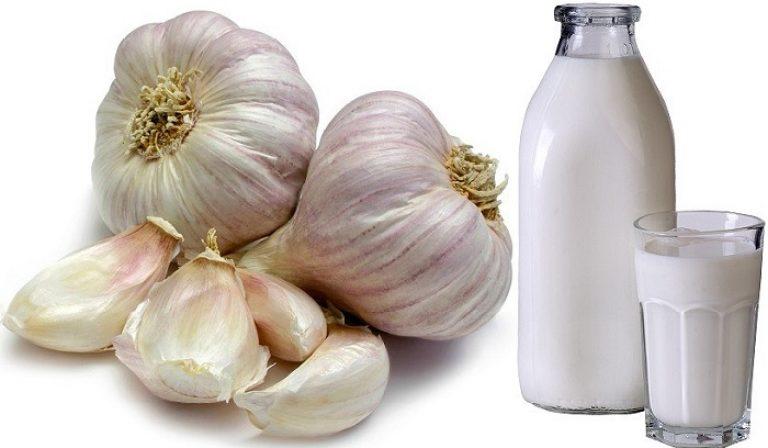 Как приготовить чеснок на молоке от глистов