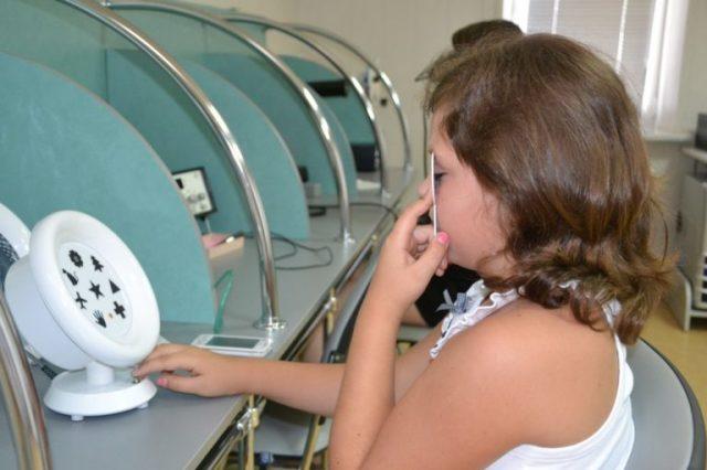 Занятия на аппарате Амблиопанорама