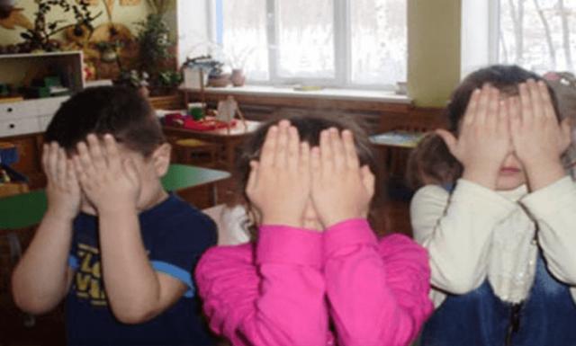 Пальминг в детском саду
