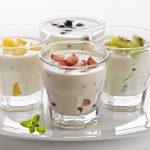 Йогурт в стаканах