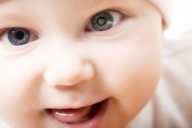 Бельмо на глазу ребёнка