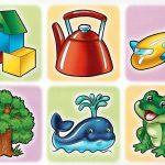 Изображения предметов и животных