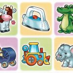 Изображения животных, машин, предметов
