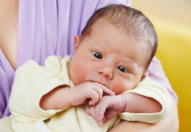 Косоглазие у новорождённого
