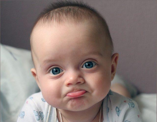 Мальчик с голубыми глазами
