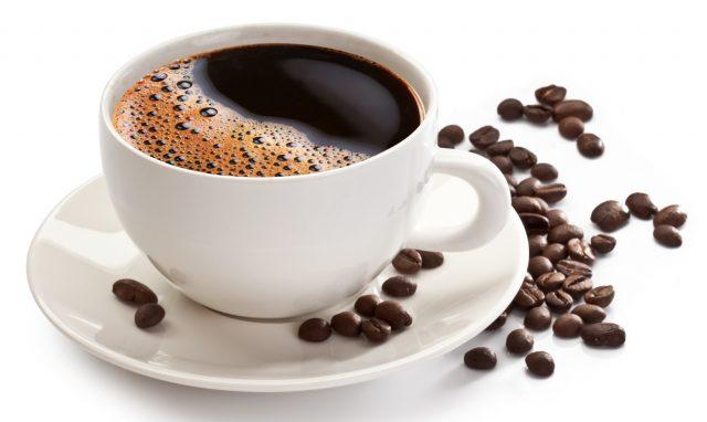 Чашка кофе без сахара