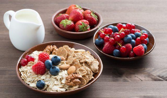 Овсяно-фруктовая диета