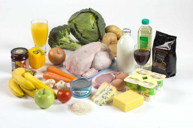 Продукты на безглютеновой диете