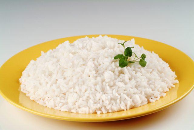 Варёный рис