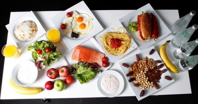 Меню средиземноморской диеты на день
