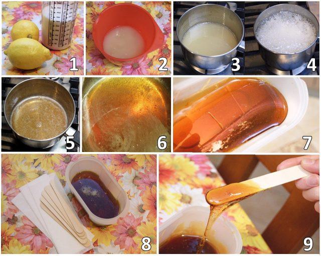Пошаговое приготовление сахарной пасты для шугаринга