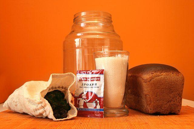 Ингредиенты для приготовления разных видов хлебного кваса
