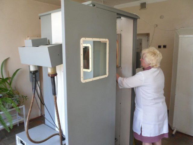 Аппарат для плёночной флюорографии
