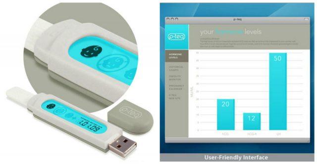 Многоразовый электронный тест на беременность и программа