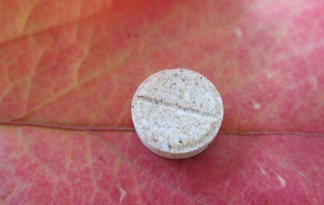 Внешний вид таблеток Мукалтин