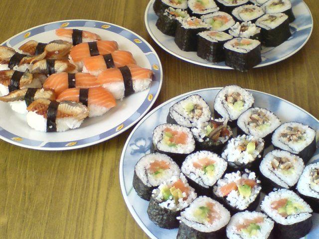 Суши и роллы дома