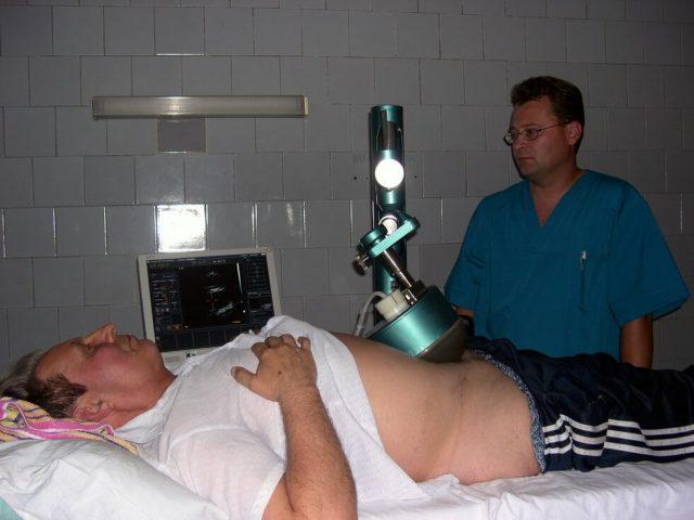 Физиотерапевтическая процедура при простатите