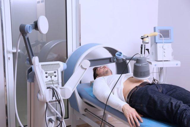 Сеанс магнитотерапии при простатите