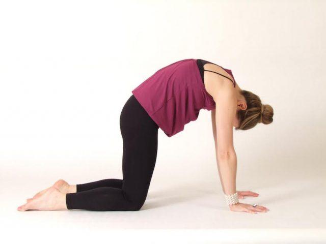 Поза для йоги