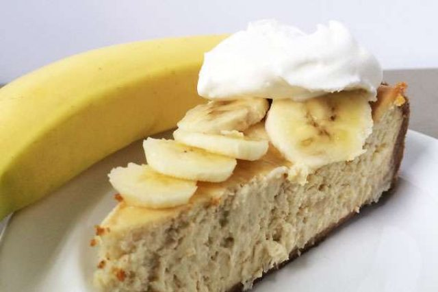 Чизкейк с бананом