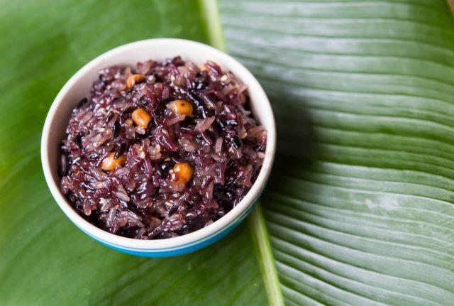 Чёрный тибетский рис