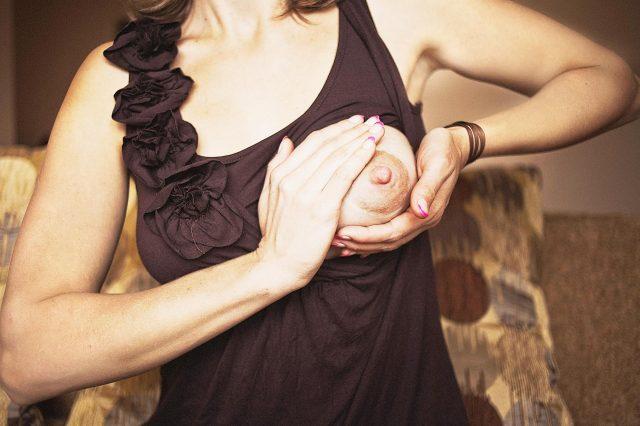 Разогрев груди