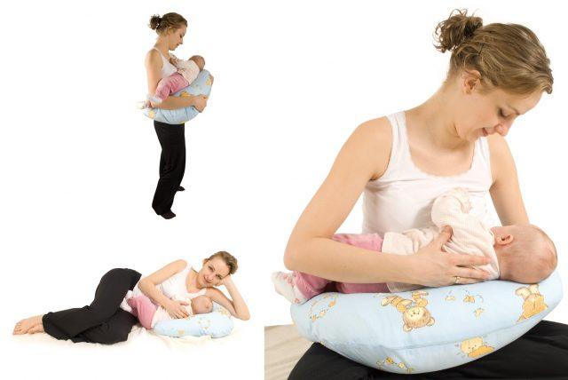 Три позы кормления ребёнка