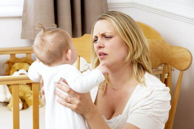 Недосыпание у кормящей мамы