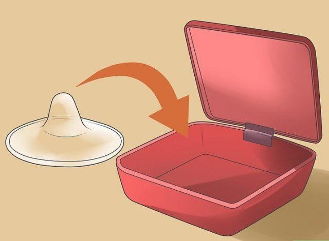 Накладка и контейнер для её хранения