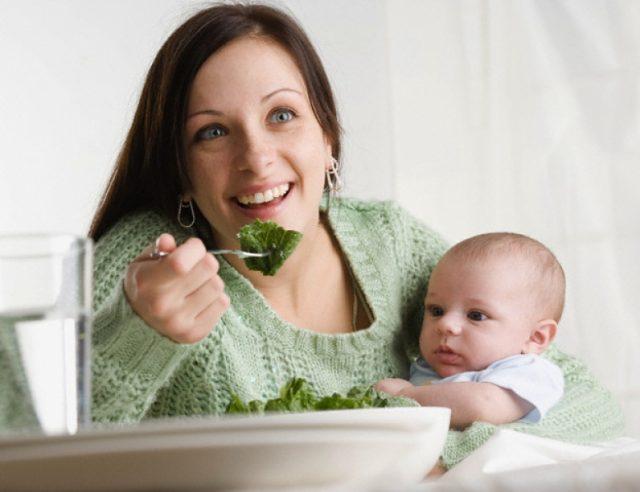 Рациональное питание после родов