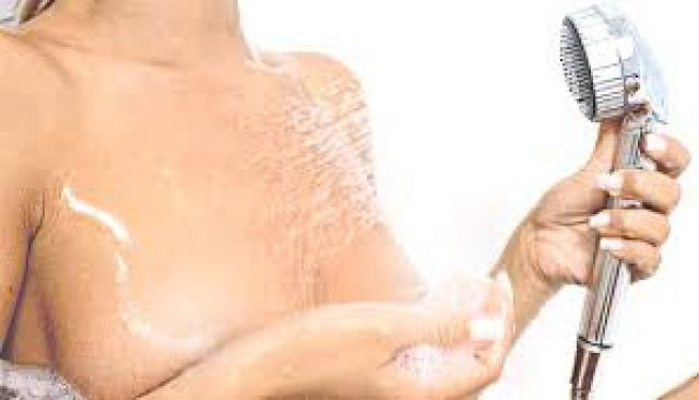 Душ-массаж груди