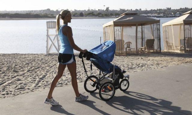 Прогулка с коляской