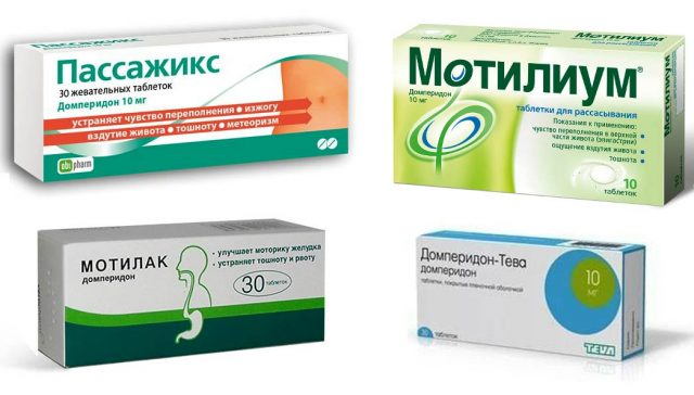 Препараты домперидона