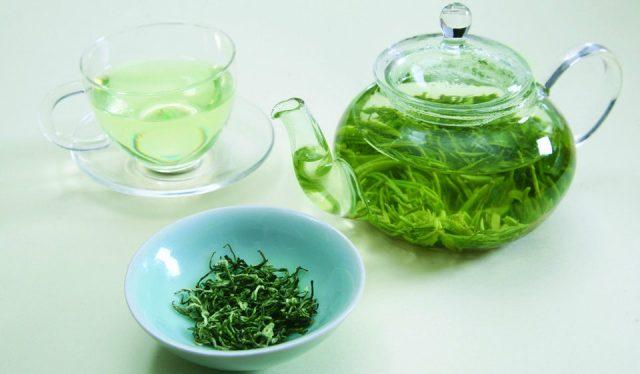 Заваривание зелёного чая
