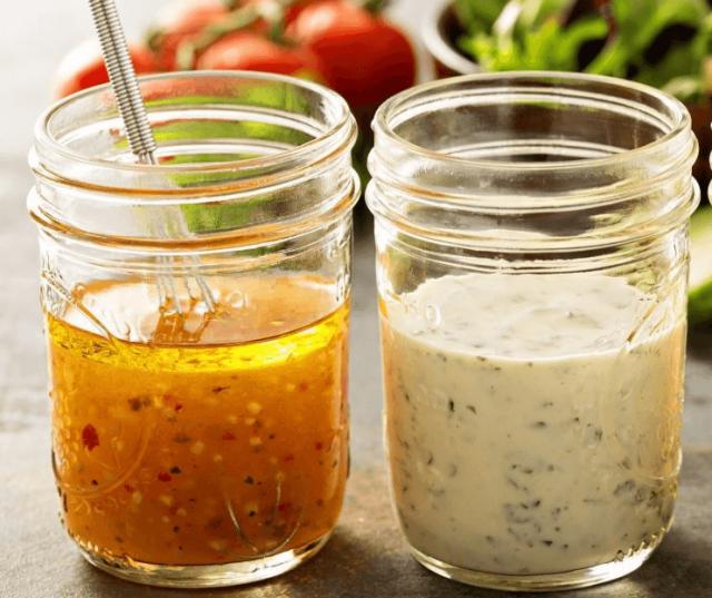 полезные заправки для салата
