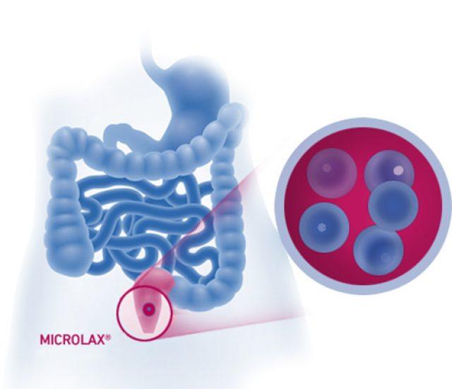 Действие Микролакса на кишечник