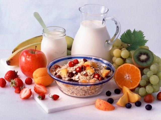 Растительно-молочная диета