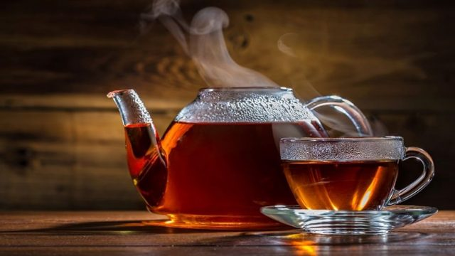 Алкоголь и чай